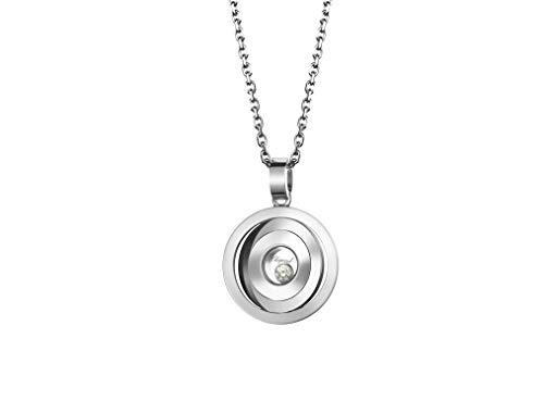 Chopard Happy Spirit White Gold Small Round Pendant with Diamond - 797700-1001