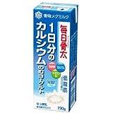 【雪印メグミルク】毎日骨太 1日分のカルシウムのむヨーグルト 190g×36本セット(クール便)★当店から出荷時、賞味期限10日~13日の商品です。