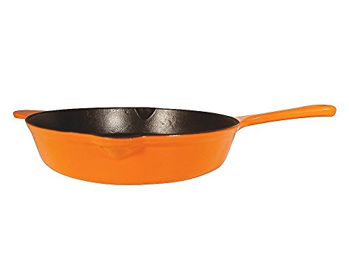 Le Chef Enameled Iron Deep 12-Inch.