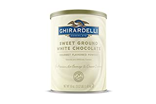 Ghirardelli Chocolate Sweet Ground White Chocolate Flavor Beverage Mix, 50 Ounce Canister (B001G604YY) | Amazon price tracker / tracking, Amazon price history charts, Amazon price watches, Amazon price drop alerts