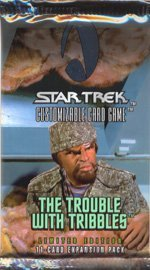 tribbles customizable card game - 2