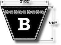 6955 B53 Kevlar V Belt