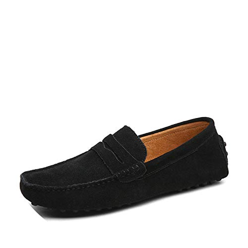 Fashion Summer Style Soft Moccasins Men Loafers Genuine Leather Shoes Men Flats Gommino Driving Shoes,01 - Inch Stretcher Pad 3