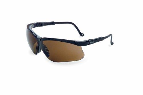 Honeywell Genesis Anti-Fog Tinted Safety Glasses, Espresso Lens - That To Sunglasses Sunlight Adjust