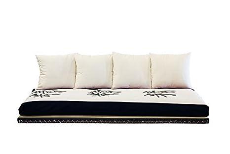 Letto Futon Matrimoniale : Vivere zen divano letto futon kanto lux futon tatami