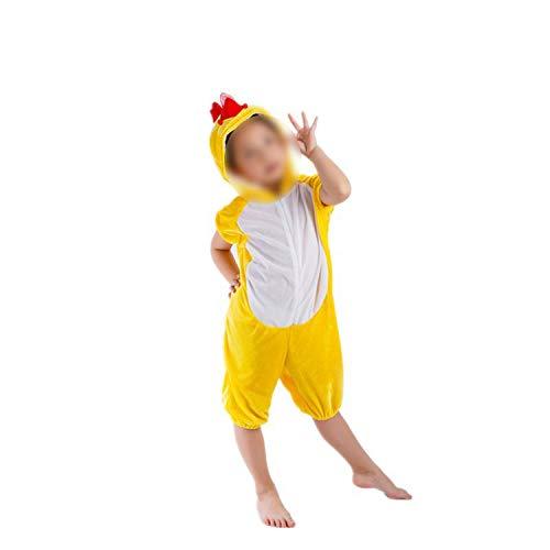 (Dance Art Kindergarten Children's Halloween Cosplay Jumpsuit Costume,Yellow)