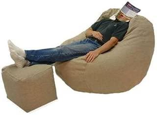 product image for Big Bean Beanbag Lounger Hemp - Natural
