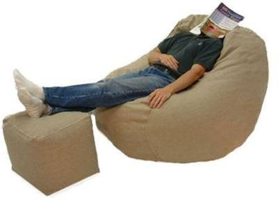 Big Bean Beanbag Chair Hemp -