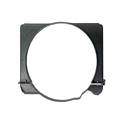 Eckler's Premier Quality Products 57-131984 - Chevy Radiator Fan Shroud, V8 Position ()