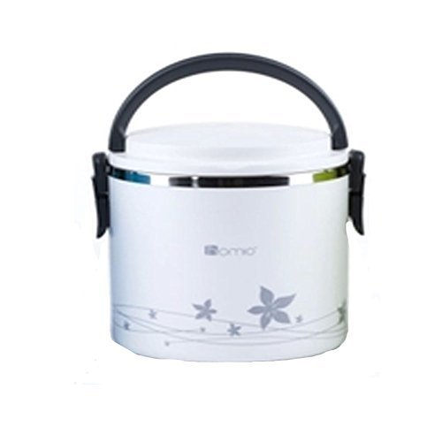Lunch box heat insulation lunch box lunch for school, commuting, picnic box lunch box side dish cup rankings warmth health capacity 1.8L (White)