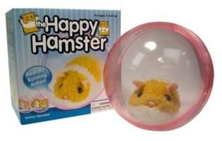 Happy Hamster - Hamusuta the Happy Hamster in Ball
