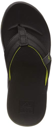 (Reef Men's Cushion Bounce Phantom Sandal, Grey/Green (GRYGRN/GRG), 10)