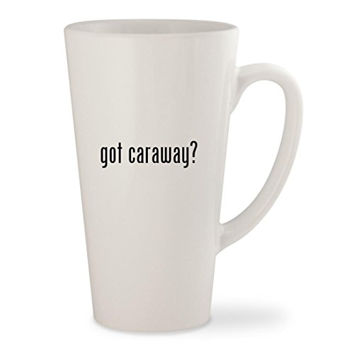 got caraway? - White 17oz Ceramic Latte Mug Cup