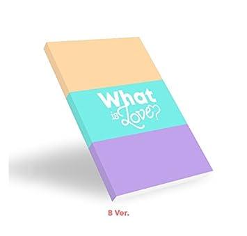 twice what is love b ver 5th mini album cd photocards