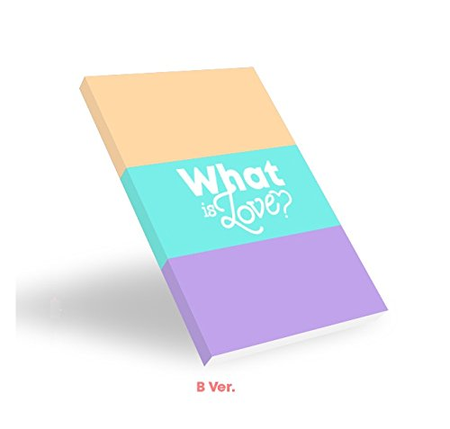 TWICE - WHAT IS LOVE? [B ver ] (5th Mini Album)  CD+Photocards+Sticker+Pre-Order Benefit+Folded Poster+Free Gift