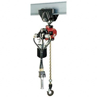 - Ingersoll-Rand - 7776E-2DA10-C6S - Air Chain Hoist, 2200 lb. Cap., 10 ft. Lft