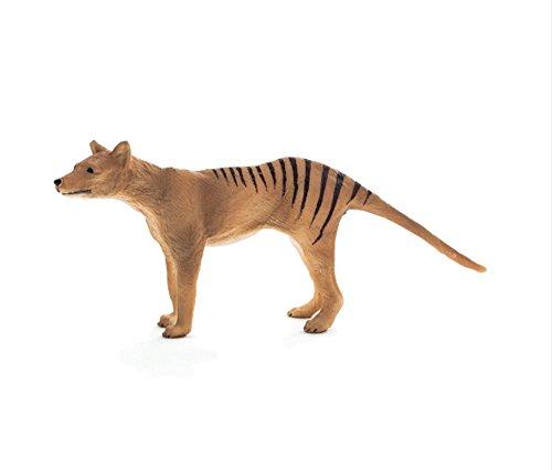 Mojo Fun 387161 Thylacine - Tasmanian Tiger - Realistic International Wildlife Toy Replica ()