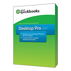QuickBooks(R) Desktop Pro 2017, Traditional Disc