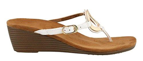 Vionic Park Women's Park Vionic Orchid Wedge Sandals in White B01HQHVUHQ Shoes f5878f