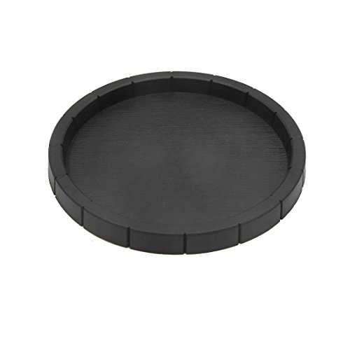 - uxcell Black Plastic Terrarium Water Food Dish Feeding Bowl for Reptiles and Amphibians Lizards Chameleons
