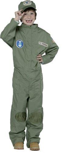 Kid's US Air Force Uniform Costume (Size:7-10) by Rasta -