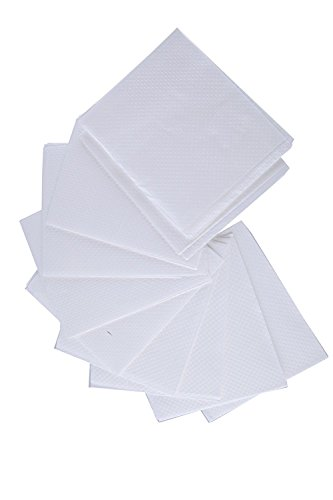 100-Count Paper Toilet Seat Covers - Travel Size -Disposable - Hygiene- Perfect For Purses and Handbags - White Covers - 16'' x 14'' by Juvale (Image #5)