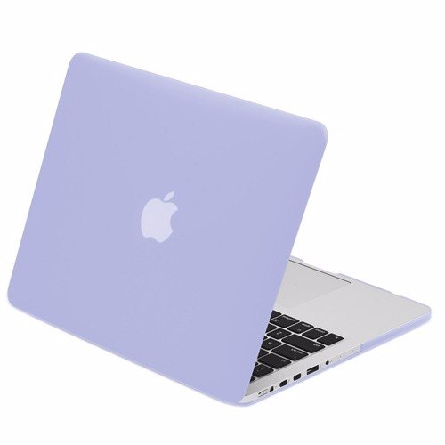 "TOP CASE - Retina 13-Inch Rubberized Hard Case Cover for MacBook Pro 13.3"" (13"" Diagonally) with Retina Display (Old Gen. 2012-2015) Model: A1425 and A1502 - Serenity Blue"