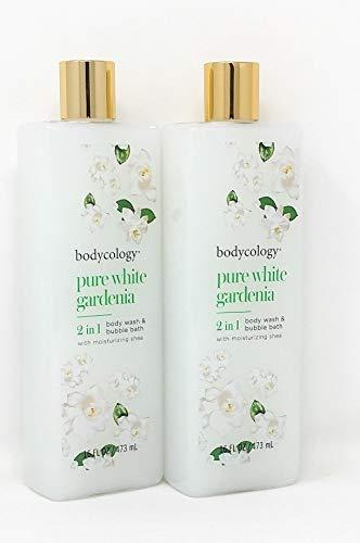 Bodycology Pure White Gardenia 2 in 1 Body Wash 16 FL OZ - 2-PACK