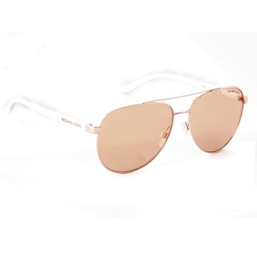 Michael Kors Hvar Sunglasses MK5007 Rose Gold / Rose Gold Flash 1080/R1 - Kors Aviators Michael