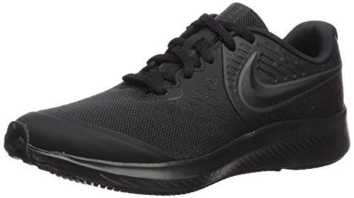 Nike Boys Star Runner 2 (GS) Sneaker, Anthracite-Black-Volt, 6Y Youth US Big Kid
