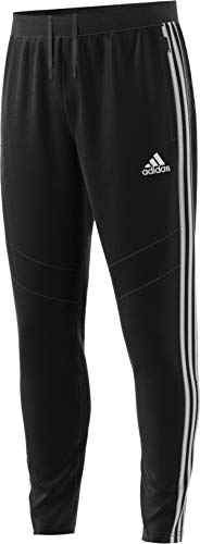 adidas Men's Tiro19 Training Pants, Black/White, 3X-Large
