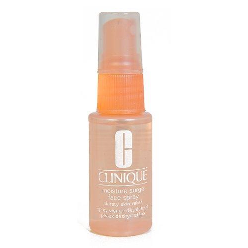 Clinique Moisture Surge Face Spray Thirsty Skin Relief, 1 Fl. Oz. / 30 ml, Travel Size (Best Face Mist Spray Moisturizer)