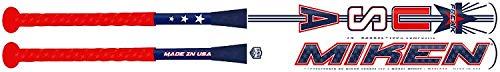 "Miken Limited Freak USA Maxload ASA Border Battle Model 2-Piece Adult Slowpitch Softball Bat, 26"", 14"" Barrel Length"