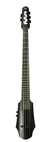 NS Designs NXT5a-CO-BK-F NXT5a Cello Fretted,Black by NS Designs