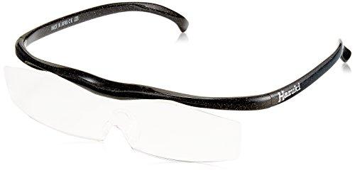 Hazuki Loupe Large 1.85 Times Clear Lens Black Gray