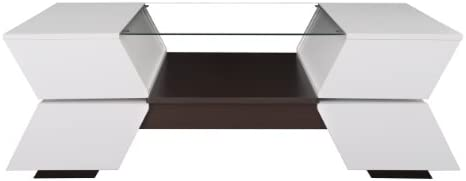 Furniture of America Ariadne 4-Compartment Coffee Table - the best living room table for the money