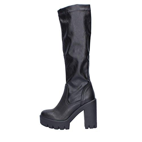 Black Boots Moi Womens Leather C'est tqfYzxw