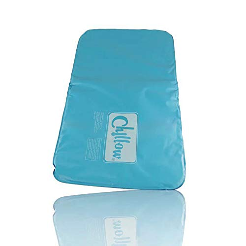 Chillow Cooling Pillow Relaxing Restful Sleep Natural Water Cool Gel Comfort New