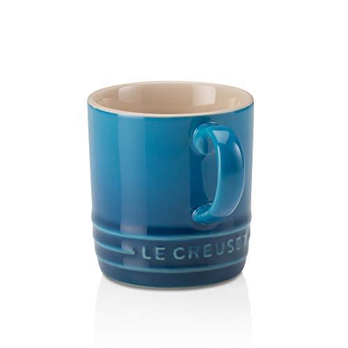 Le Creuset Stoneware Petite Espresso Mug, 3.5 Ounce, Marseille (Ceramic Cups Espresso)
