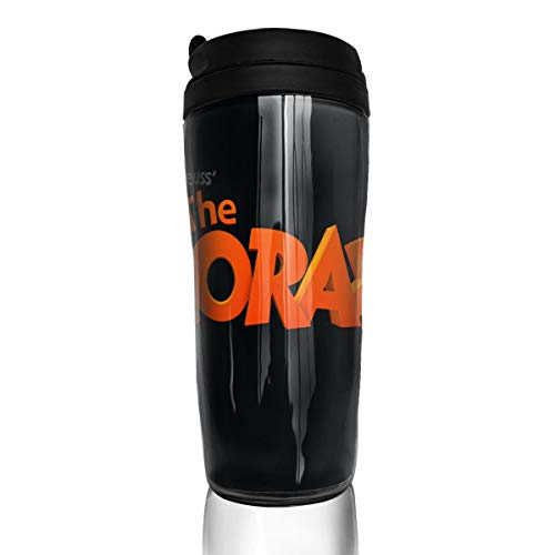 Crystal Goforth Dr. Seuss The Lorax Logo Heat-Resistant Coffee Cup Travel Cup Food Grade Environmental Protection ABS Water Bottle Office Cup