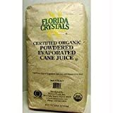 Florida Crystals Inc Organic Powdered Evaporated Cane Juice, 50 lb -- 1 each