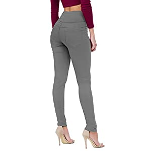 Hybrid & Company Women's Butt Lift V3 Super Comfy Stretch Denim Skinny Jeans