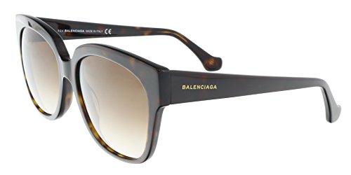 Sunglasses Balenciaga BA 15 BA0015 52F dark havana / gradient - Mens Sunglasses Balenciaga