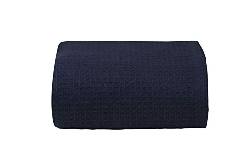 100%Soft Premium Cotton Thermal Blanket in Waffle weave 102x
