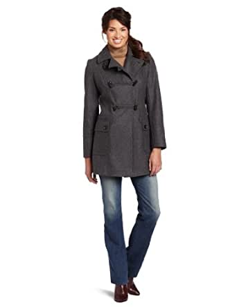 Tommy Hilfiger Women's Fashion Peacoat, Graphite, 10