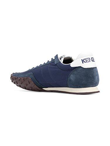 Sneakers F005SN122F5676 Kenzo Wildleder Blau Herren ZIBBqWn4