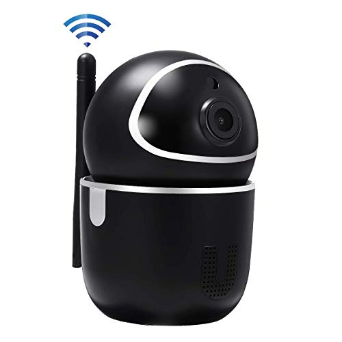 HALUM WiFi IP Camera, 1080P Home Security Surveillance Indoor Wireless Camera with HD Night Vision Two-Way Audio Motion Detection Pan Tilt Camera for Baby Elder Pet Monitor