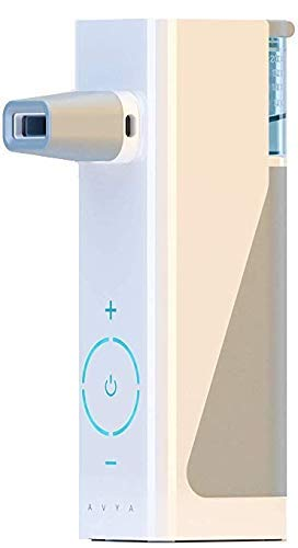 [New] AVYA Portable Steam Inhaler, Sinus Rinse Therapy System + Starter Saline Kit (Cordless)[1 Year Warranty Included ]
