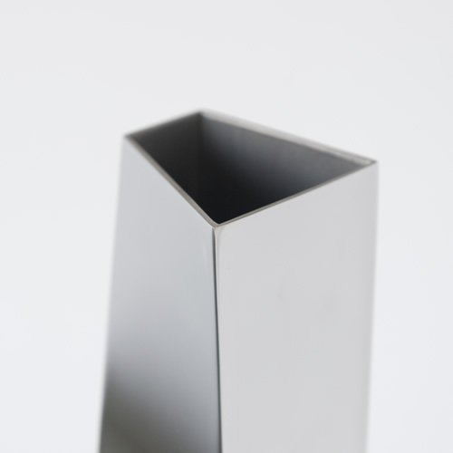 Alessi Zh01 Crevasse Vase en Acier Inoxydable 18//10 Brillant