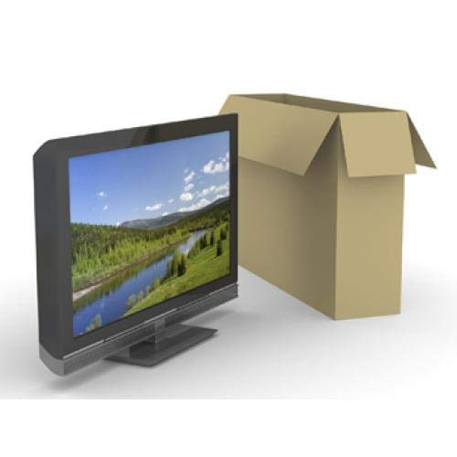 "52/"" LCD TV Moving Storage Box with 4 Foam U Corners 25mm 35mm"